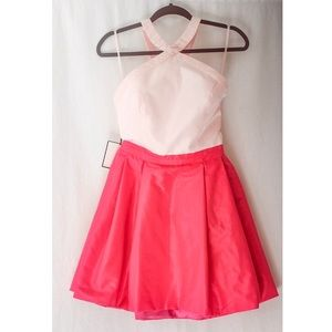 NWT Fame & Partners Party Dress Pink Size 6